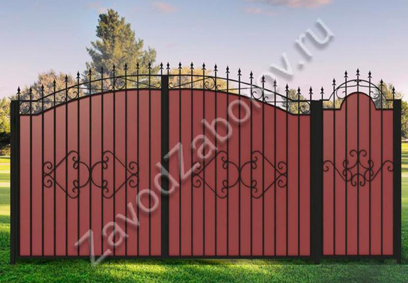 под 20 проф лист (2) размеры ворот 3420,калитка 1015,.jpg