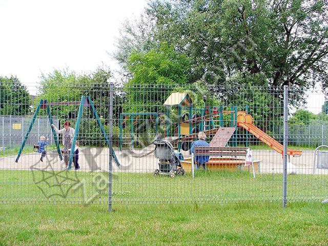 для картинки сада забор детского