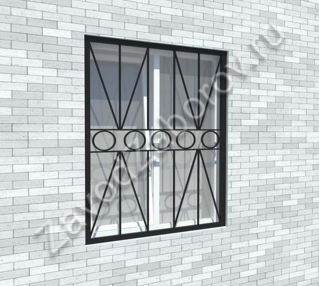 металлические решётки на окна от производителя в москве